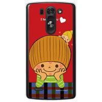 (スマホケース)だいすき (クリア)design by Ringo / for LG G3 BEAT LG-D722J/UQ mobile (Coverfull)