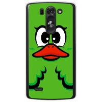 (スマホケース)ハニーダック グリーン (クリア)/ for LG G3 BEAT LG-D722J/UQ mobile (YESNO)