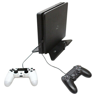 PS4Slim&PSPro用 マルチ縦置きスタンド アローン ALG-P4MTSD