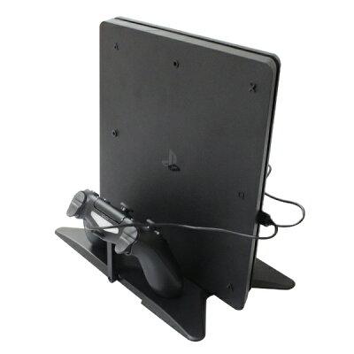 BIC プライベートブランド PS4Slim&PS4Pro用 マルチ縦置きスタンド CUH-2000シリーズ/7000シリーズ対応 BKS-P4MTSD