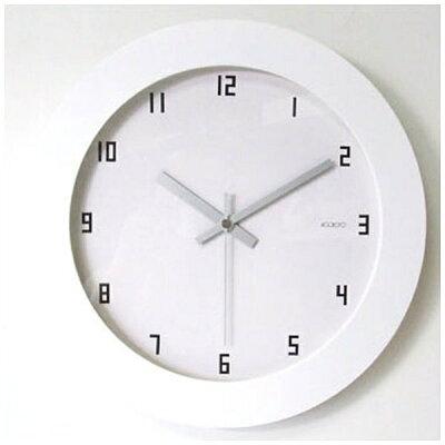 フォーカススリー 掛け置き兼用時計 ラウンドB'クロック V-105