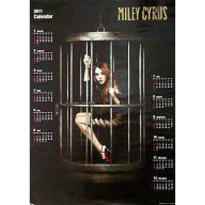 カレンダー マイリー サイラス 特製2011年度ポスターカレンダー (CD Can't Be Tamed スペシャル プライス盤)
