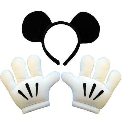 ディズニー コスチューム ミッキーマウス ヘッドバンド&グローブセット 802540