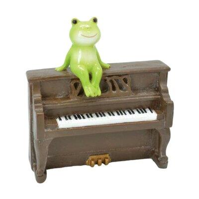 ロイヤルアーデン 置物 カエル楽団 64407 ピアノ 1438752