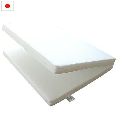 ベビー固綿敷布団    ホワイト