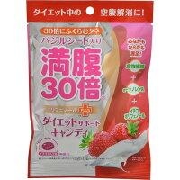 グラフィコ 満腹30倍ダイエットサポートキャンディイチゴミルク 42g