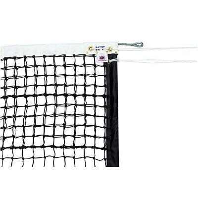KT4264 KTネット 全天候式ポリエチレンブレード 硬式テニスネット サイドポール挿入式 センターストラップ付き 日本製