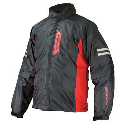 KOMINE 03-539 RK-539 Breathter Rain Wear FIATO Black L