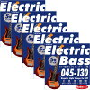 "IKEBE ORIGINAL Electric Bass Strings ""イケベ弦 5弦エレキベース用 045-130"" Regular Light Gauge for 5ST/IKB-EBS-45130"