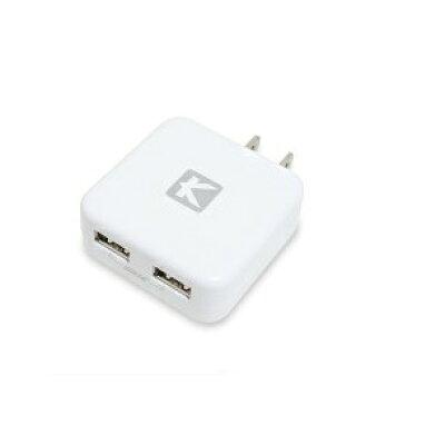 android USB充電器 2ポート 2.4A 2台同時 急速充電器
