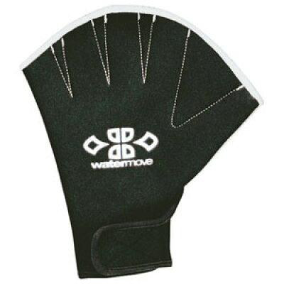 watermove ウォータームーブ スイミング用 アクアミット WAM31112 ブラック/ホワイト M
