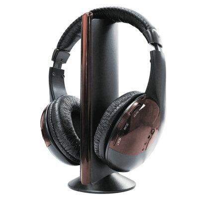 LITHON 多機能 ワイヤレス ヘッドホン KA-00051 ブラック