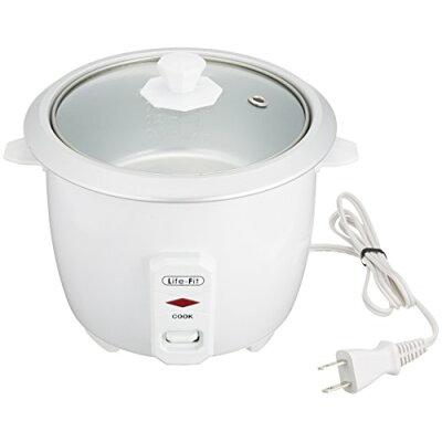 ライフフィット 炊飯器 2合炊き LF-001