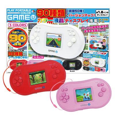 ポータブル 子供 おもちゃ 玩具 1.8インチ プレイポータブルカラー U90 赤/桃 アソート(pb-8838-1)