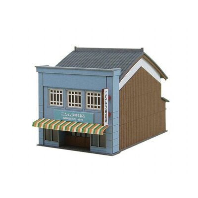 みにちゅあーとキット なつかしのジオラマシリーズ 1/150 看板建築b mp03-10