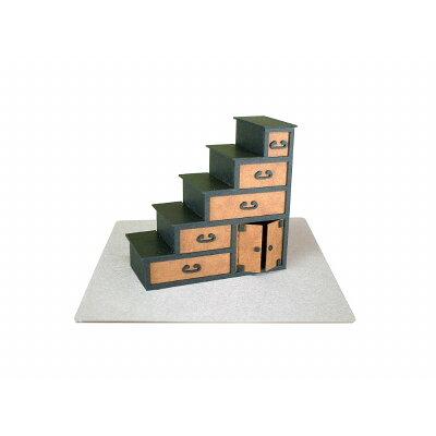みにちゅあーと・プチ 箱階段〔MP01-36〕 さんけい