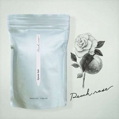 grasse tokyo エプソムソルト 浴用   peach rose ピーチローズ epsom solt