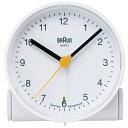 BRAUN ブラウン アラームクロック BNC001 ホワイト