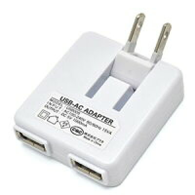 USB-ACアダプター 2ポート(合計1000mA)仕様