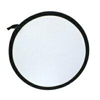 80cm丸レフ板 商品撮影や人物撮影に!シルバー/ホワイト