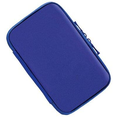 ニュー 3DS用 セミハードケース スリム ブルー ANS-3D058BL(1コ入)