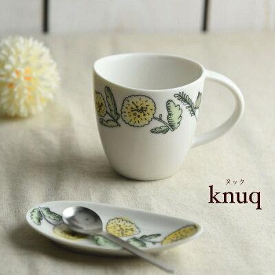 美濃焼 深山 knuq-ヌック- マグカップ イエロー
