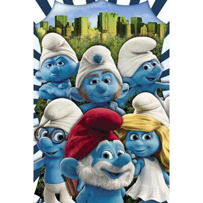 スマーフ/The Smurfs(New York)《GBA034》ポスター