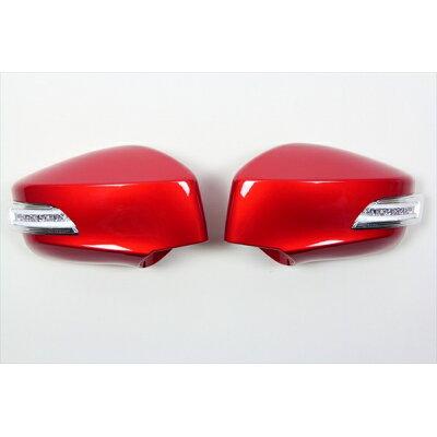 VALENTI ヴァレンティ LEDドアミラーウィンカー クリア/クローム/BL オレンジメタリック 86/BRZ DMW-86ZCB-H8R 4580277390906