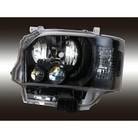Valenti ヴァレンティ HL200A-CM-4JL4 ジュエルヘッドランプ 4型純正ルックLEDタイプ トヨタ 200系 ハイエース/レジアスエース 4型純正LEDヘッドランプ仕様車専用 (カラー:クリア/マットブラック