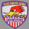 Clay Smith CSG-012C OFFICIAL CUSTOM PATCHES STARS&STRIPES