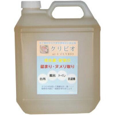 クリビオ 環境浄化微生物 配管詰まり ヌメリ取り 4L