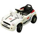 電動乗用RC MINI CAR ホワイト ミニクーパータイプ