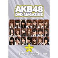 AKB48 DVD MAGAZINE VOL.7 AKB48 22ndシングル選抜総選挙「今年もガチです」/DVD/AKB-D2092