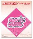 Angel Beats! エンジェルビーツ クロスステッカーF:Girls Dead Monster トイズ・プランニング