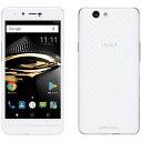 PUP Mode1 RS ホワイト Android 7.0・5.0型・3GB/32GB mivroSIM SIMフリースマートフォン