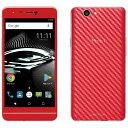 PUP Mode1 RS レッド Android 7.0・5.0型・3GB/32GB mivroSIM SIMフリースマートフォン