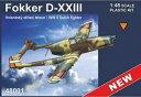 1/48 フォッカーD-XXIII オランダ 双発戦闘機 プラモデル RS models
