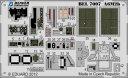 1/72 零戦21型 計器盤、シートベルト接着剤付 エアフィックス用 エッチングパーツ ビーバーコーポレーション