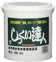 薬仙石灰 しっくい達人(ローラーで塗れる屋内しっくい塗料) ACアイボリー 3kg