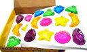 キラパテ粘土 宝石クリアタイプ 24個入り おもちゃ