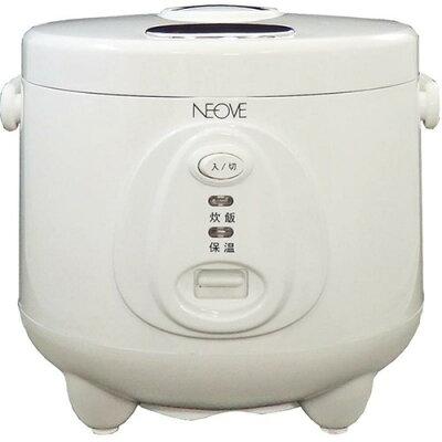ネオーブ 単機能炊飯ジャー 3合 ホワイト NRS-T30A(1台)
