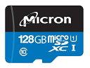 ロジテック microSDメモリーカード 128GB LMC-MSD128GMCH