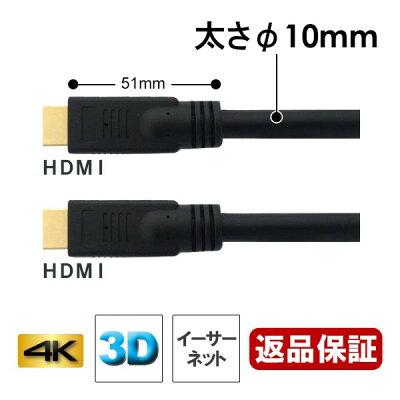 高質HDMIケーブル 15m イーサネット/4K/3