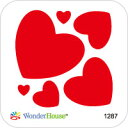 【1287】hearts #2/ハートセット♪ワンダーハウス*ダイ♪ウェディング バレンタイン