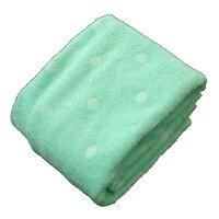 綿 のびのび シンカーパイル ドット 枕カバー 521851-D524