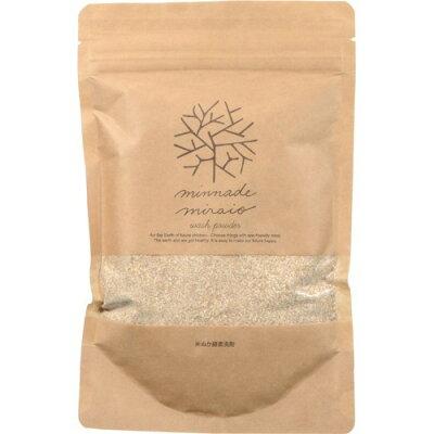 みんなでみらいを 米ぬか酵素洗剤 スタンディングパック(180g)