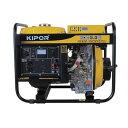 KIPOR/キポー オープン型 ディーゼルエンジン発電機 KDE3.3E