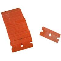 JTC プラスチック製替刃 10枚入り 車体整備 ハンドツール 切削工具 ステッカー剥がし 替え刃 プラスチック JTC2526-1