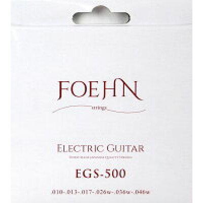 FOEHN EGS-500 Electric Guitar Strings Regular エレキギター弦 10-46