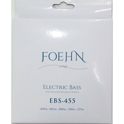 FOEHN EBS-455 Electric Bass Strings Regular Light 5strings 5弦エレキベース弦 45-125